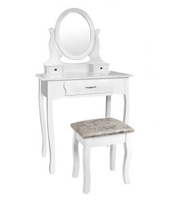 Nadi Dressing Table with Mirror & Stool