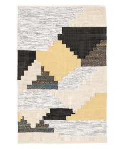 Patch Handwoven Wool Rug