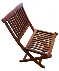 Island Outdoor Folding Dining Chair (Set of 2)