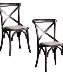 Braston Cross-Back Dining Chair