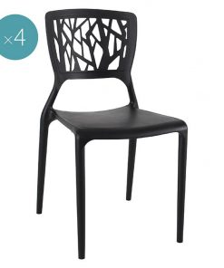 Brael Outdoor Dining Chair (Set of 4)