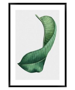 Tropical Leaves #2 Framed Wall Art