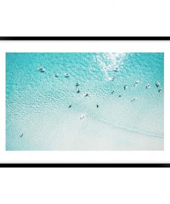 Summer Float Framed Wall Art