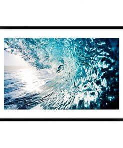Riding The Wave #1 Framed Wall Art