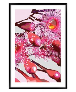 Pink Gum #4 Framed Wall Art