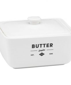 Staples Foundry Butter Dish