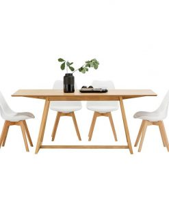 Manhattan 5-Piece Replica Charles & Ray Eames Dining Set
