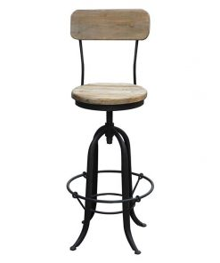 Putter Bar Stool with Back