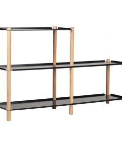 Tove 2-Step Shelving Unit