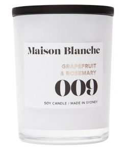 009 Grapefruit & Rosemary Soy Wax Candle