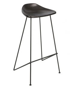 Archie Leather Bar Stool