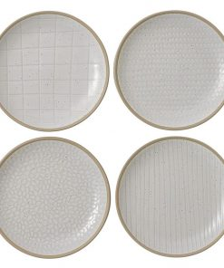 Maze Grill Cake Plate (Set of 4)