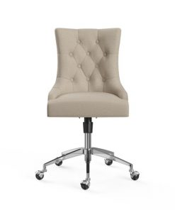 Espen Office Chair Silver French Beige