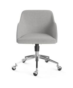 Gabe Office Chair Silver Storm Grey