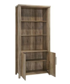 Alice Timber Open Book Case - Natural by Interior Secrets - Pay with zipMoney