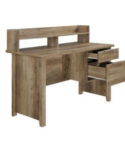 Alice 2 Drawer Timber Home Office Desk - Natural by Interior Secrets - Pay with zipMoney