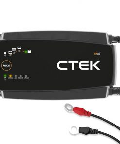 CTEK M15 Fully Automatic 12V 15A Marine Boat Battery Charger and Maintainer