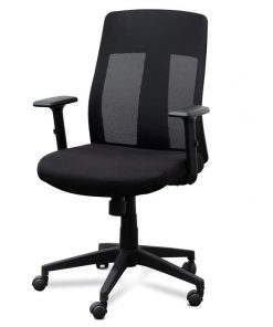 Benson Mesh Office Chair - Black by Interior Secrets - Pay with zipMoney