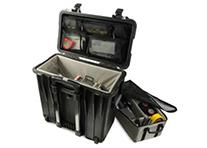 Pelican 1440 Black Case with Divider Lid