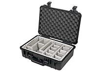Pelican 1520 Black Case with Padded Dividers