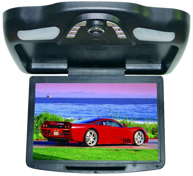 "12.1"" Roof Mount DVD Player Black"