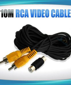 10m RCA video cable