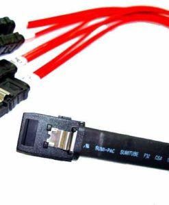 75cm SFF-8087 to 4x SATA Cable With Sideband