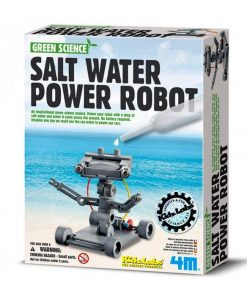 Salt Water Powered Robot | 4M Kidz