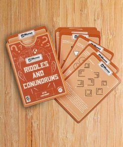 Playing Cards By Mensa - Riddles And Conundrums