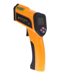 -50 to 1650��C Non-contact High Temperature Infrared Thermometer Type-K Input