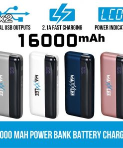 16000 mAh Power bank Battery Charger Mobile Portable USB iPhone iPad Fast Charge