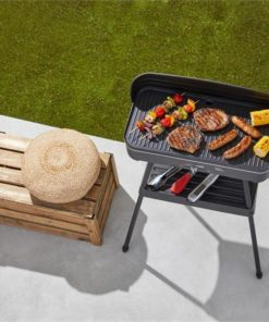 2-in-1 Electric Barbecue & Indoor Grill | Non-Stick | Davis & Waddell