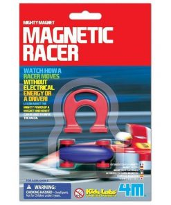 Mighty Magnetic Racer | 4M Kids magnet car racing car educational toy science