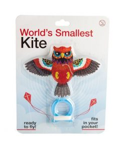 World`s Smallest Kite | MDI fly sport eagle owl parrot multi-coloured tiny