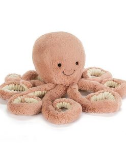 Official Jellycat Odell Octopus | Soft Toy Stuffed Animal