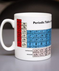 Periodic Table of Elements Coffee Mug | Science Element Coffee Tea Cup
