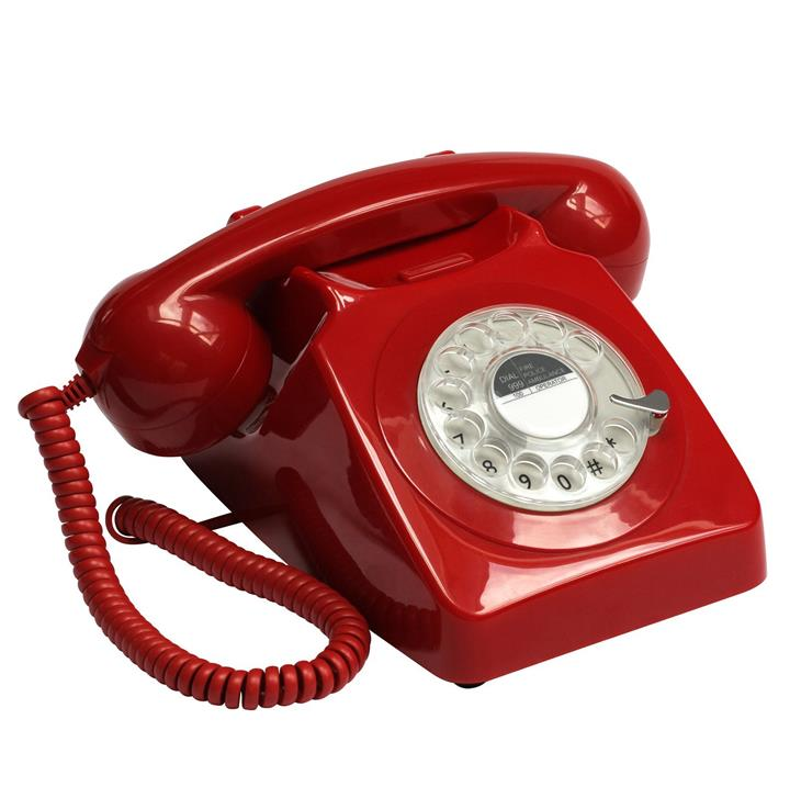 GPO 746 Retro Rotary Telephone | Works with all AU Plugs & The NBN!