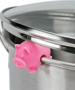 Silicone Farm Animals Pan Lid Lifters | 3-Pack | Pig
