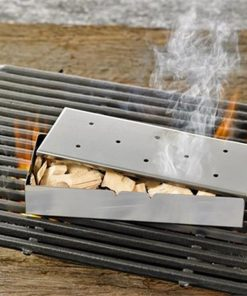BBQ Woodchip Smoker Box For BBQs & Grills | Create Smokey Flavours!