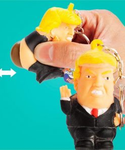 Pooing Donald Trump Keyring | Squeeze Him & He Poos!