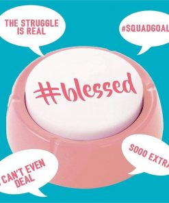 The Talking Millennial Button: 13 #Blessed Phrases