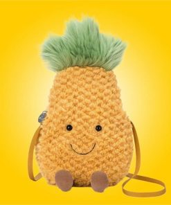 Authentic Cuddly & Cute Jellycat Amuseable Pineapple Bag