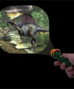Dinosaurs Alive Projector Torch | 20 Images on 3 Discs + Keyring!