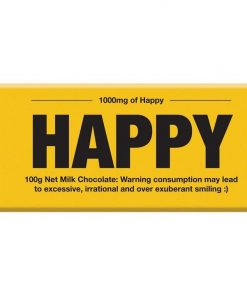 Happy Chocolate Bar For Eternal Happiness