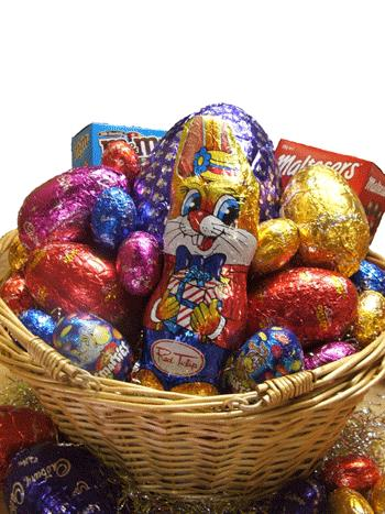 Easter gift baskets and hampers got gifts chocoholic easter hamper negle Gallery