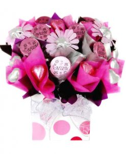 Pretty in Pink Chocolate Box - Mothers Day Hamper