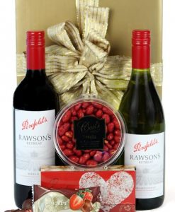 Red and White Delight - Fathers Day Hamper