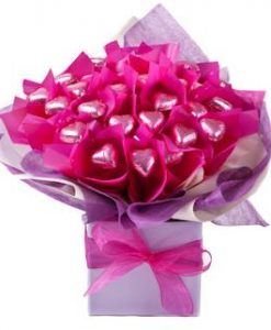 Blushing Bouquet - Mothers Day Chocolate Bouquet