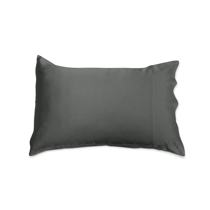 Charcoal Silk Pillowcase - Add Something Extra