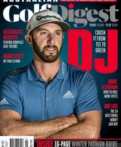Australian Golf Digest Magazine 12 Month Subscription